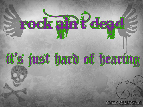 Wallpaper Rock Ain't Dead Preview